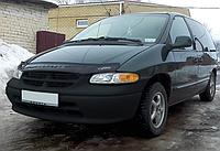 Дефлектор капота (мухобойка) Dodge Caravan III 1995-2001