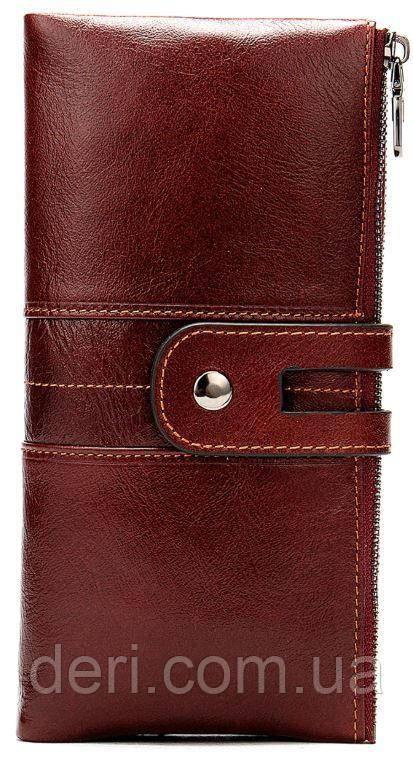 Кошелек женский Vintage 14906 Бордовый, Бордовый