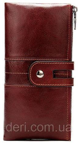 Кошелек женский Vintage 14906 Бордовый, Бордовый, фото 2