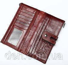Кошелек женский Vintage 14906 Бордовый, Бордовый, фото 3
