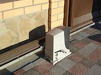 Электропривод для сдвижных ворот