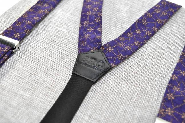 """Подтяжки, """"Violet Fireworks"""", стильные подтяжки, модные, элегантные, эффектные, украинские, фото 2"""