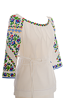 Блуза-вишиванка з льону, фото 1
