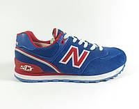 Женские кроссовки New Balance реплика голубые