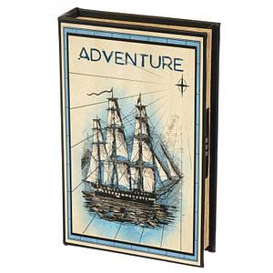 Книги сейф с кодовым замком Adventure 26 см