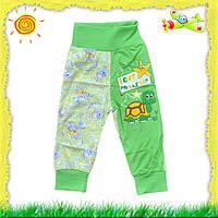Детские штанишки на еврорезинке с аппликацией