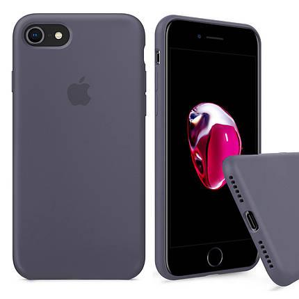 Чехол накладка xCase для для iPhone 6 Plus/6sPlus Silicone Case Full lavender gray, фото 2