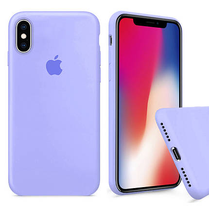 Чехол накладка xCase для iPhone X/XS Silicone Case Full филковый, фото 2