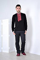 Вышиванка - футболка  мужская длинный рукав (Л.Л.Л.), фото 1