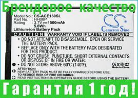 Аккумулятор для Acer beTouch E140 1500 mAh