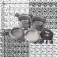 Набор посуды Kovea Solo 3 KSK-SOLO3 + горелка KB-0707 (Supalite Titanium)