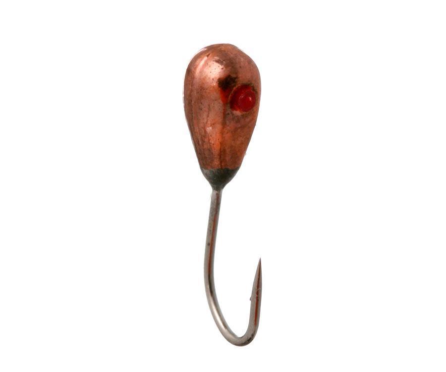 Мормышка вольфрамовая Flagman Еребус 2.5мм медь