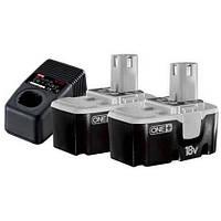Зарядний пристрій + акумулятори RYOBI BCP18172SM
