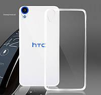 Чехол силиконовый Epik ультратонкий для HTC Desire 820 прозрачный