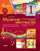 Музичне мистецтво. 1 клас (за підручником Л. С. Аристової, В. В. Сергієнко)