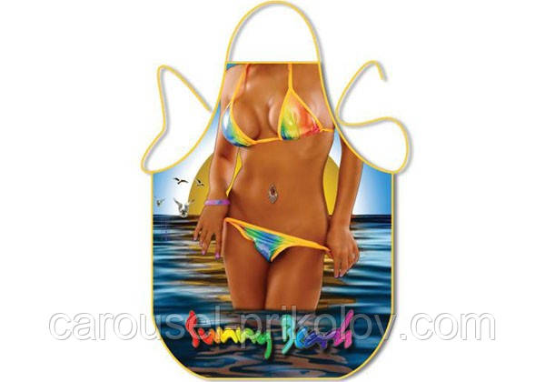 Фартух жіночий пляжний на 8 Березня
