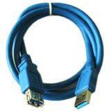 Подовжувач-удлинитель USB 3.0 AM-AF Atcom длина 0,8м (11202)