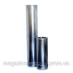 Утепленная труба нерж/оц 0,5 м, диаметр 120/180