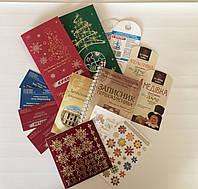 Полиграфия: папки, визитки,блокноты, наклейки, календари, открытки и др.