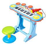 Дитячий синтезатор BB45BD, музика, світло, USB, MP3, фото 3