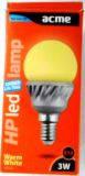 Лампа светодиодная е14 3W 130 Lm  ACME 60LED3W3000K30hE14