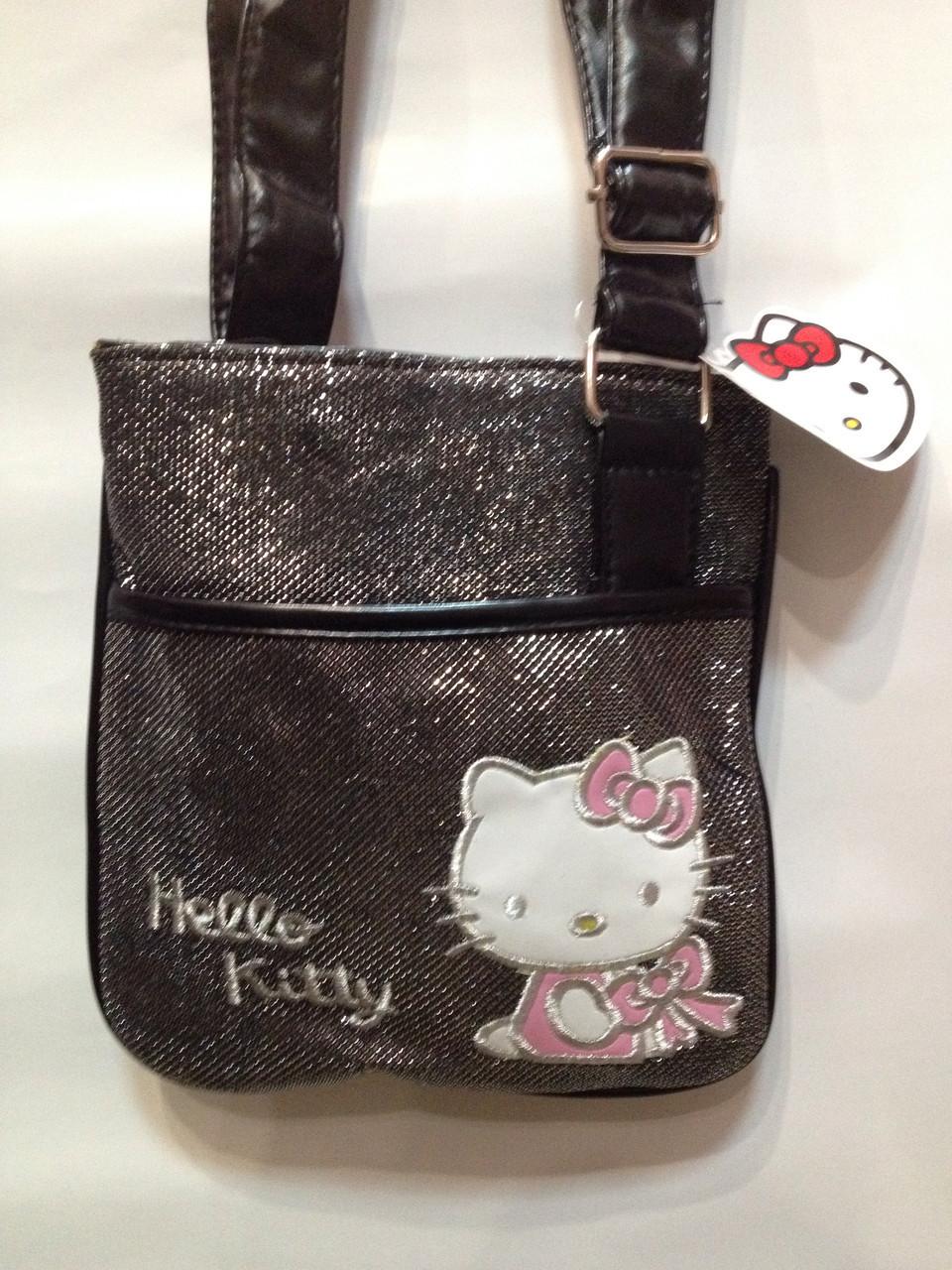 Сумка детская Hello Kitty блеск K-017