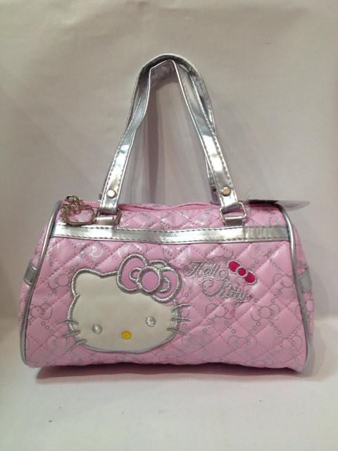 Сумка детская Hello Kitty розовая H-40