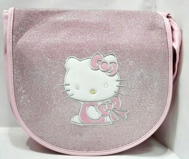 Сумка для девочки Hello Kitty К-48025 розовая