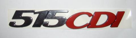 """Эмблема задней двери """"515CDI"""""""