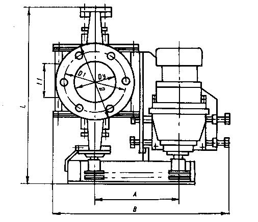 Шлюзовой питатель (затвор) Ш7-20М (аналог Ш3-20)