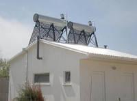 Термосифонные безнапорные солнечные коллекторы со встроенным баком