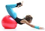 М'яч для фітнесу 55 см гімнастичний M 0275, фото 3