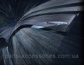 Mercedes E W211 W 211 Ветровики дефлекторы WeatherTech комплект 03-09
