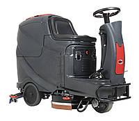 Поломоечная машина с сиденьем AS710R - 71 см, баки по 120 л