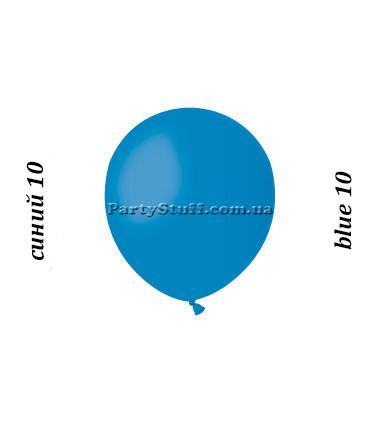 Надувные шары Gemar АМ50 синий пастель