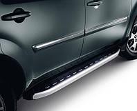 """Пороги """"Fullmond"""" Ніссан Скайстар Nissan Skystar (NP-300) 2007+"""
