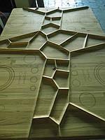 Фрезеровка  деревянных щитов на станках с чпу