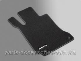 Коврики к mercedes ml-class оригинал W166 W 166 коврики AMG велюровые передние задние чёрные новые оригинал