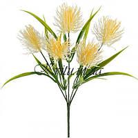 Искусственные цветы букет из пластика Аватар 5-ка , 34см