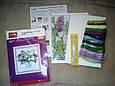 Цветы к богатству (Павлин) D165/1 Набор для вышивки крестом , фото 2