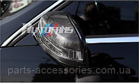 Карбоновые накладки на зеркала Carbon Mercedes GLK X204 X 204
