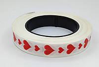 Лента Сердечки №2 ширина 3 см, 50 м, фото 1