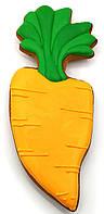 """Металлическая вырубка для пряников и печенья """"Морковь"""""""