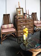 """Комплект""""Комод-Мечта,кресло-Посол,столик Ниагара""""."""