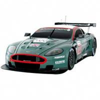 Модель автомобиля радиоуправляемая Aston Martin DB9 Racing зеленый 1:16