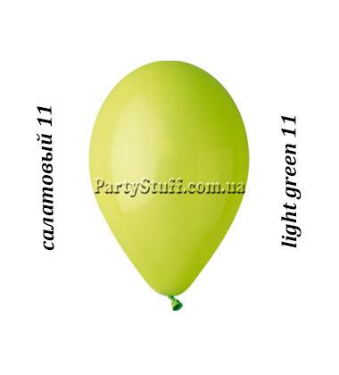 Воздушные шарики Gemar G90 пастель САЛАТОВЫЙ