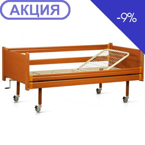 Медицинская кровать деревянная модель -93 (Италия) (OSD)