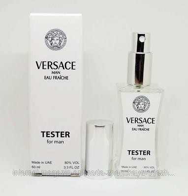Тестер мужской Versace Man Eau Fraiche (Версаче эу Фреш), 60 мл