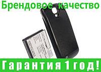 Усиленный аккумулятор для Samsung Galaxy S4 5200 mAh с черной крышкой