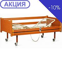 Медицинская кровать деревянная функциональная с электроприводом -91E (Италия) (OSD)